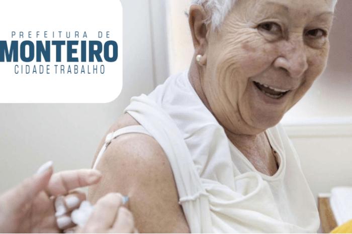 Covid-19: Monteiro inicia vacinação com dose de reforço para idosos acima de 70 anos