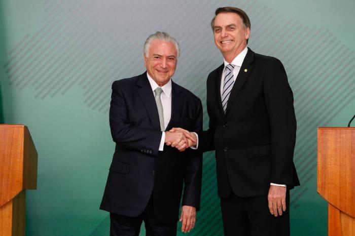 Após ajudar Bolsonaro com carta, Temer diz que país precisa de 'pacificação' e 'entendimento'