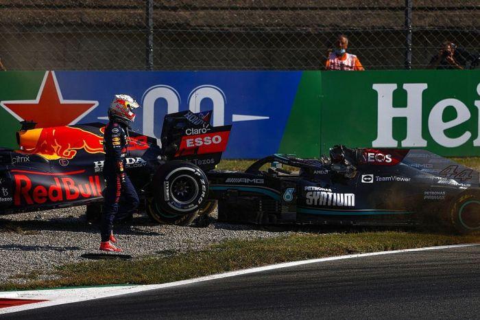 Verstappen perde três posições no grid para o GP da Rússia por acidente com Hamilton