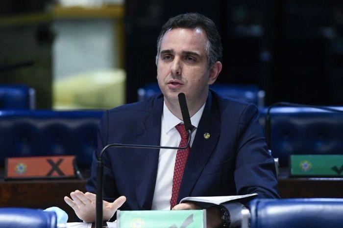 Pacheco diz esperar que nota de Bolsonaro se perpetue e represente a tônica entre Poderes