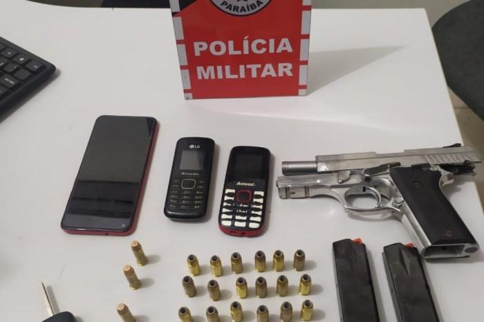 Grupo é preso com arma de fogo no Sertão do estado
