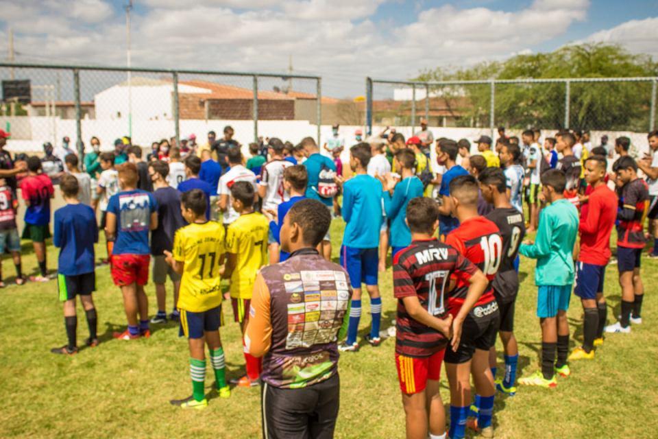 Esporte: projeto atmosfera realiza avaliação técnica de futebol em cidade do Cariri