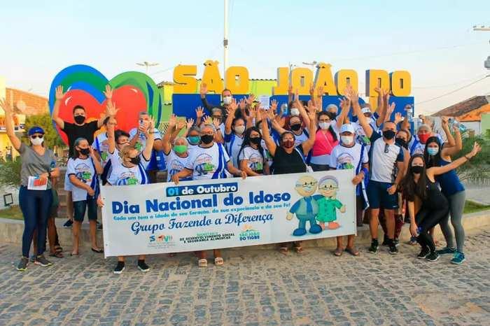 Prefeitura de São João do Tigre realiza programação especial em alusão ao Dia do Idoso