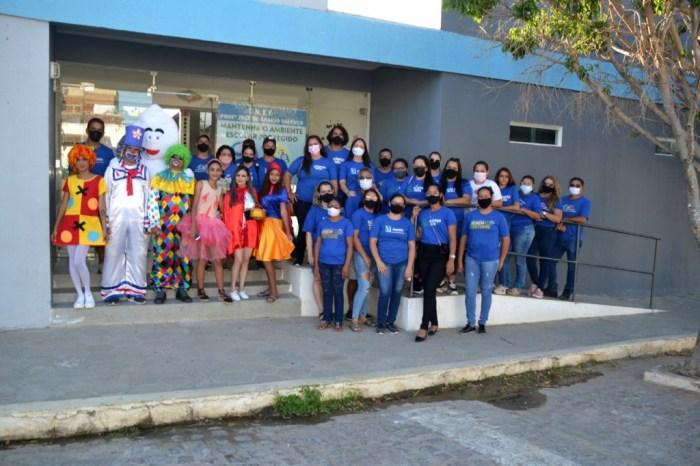 Secretaria de Desenvolvimento Social comemora Dia da criança em Monteiro