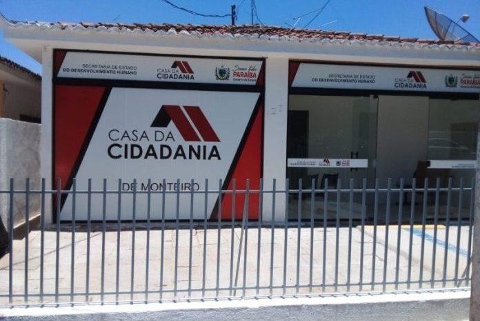 Em Monteiro, Governo inaugura 28ª Casa da Cidadania da Paraíba