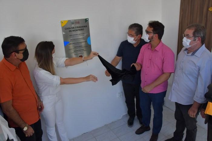 Monteiro ganha Casa da Cidadania e população da região dispõe de serviço de emissão de documentos
