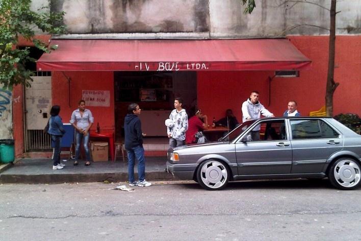 Bar popular, Grotão da Bela Vista<br />Foto Abilio Guerra