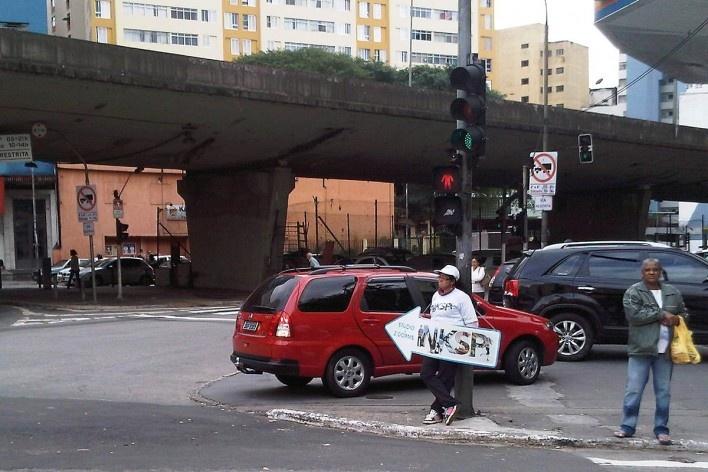Avenida 9 de Julho, onde acaba o Grotão da Bela Vista<br />Foto Abilio Guerra