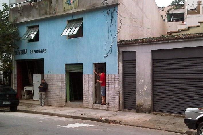 Loja de reformas, Grotão da Bela Vista<br />Foto Abilio Guerra
