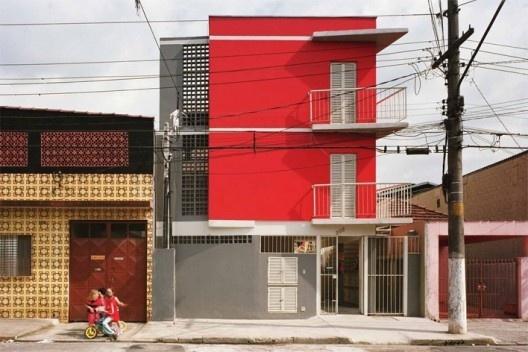 Cohab Pedro Facchini, São Paulo, Cohab. Arquitetos Marcelo Barbosa e Jupira Corbucci Foto divulgação
