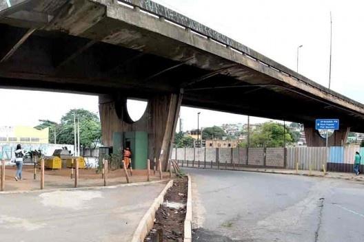 Viaduto Engenheiro Andrade Pinto, situação atual, Belo Horizonte<br />Foto divulgação  [Acervo PBH]