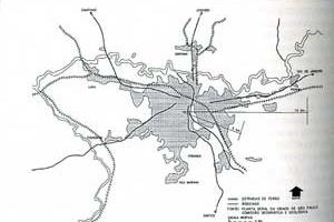 Built Area in São Paulo (1914) [VILLAÇA, Flavio, 2001]