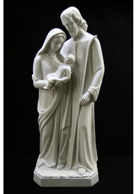 Catholic Statues Catholic figure Holy Family Holy Family figures Holy Family statues indoor