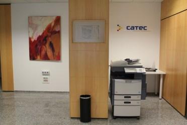 El centre ofereix servei d'impressió i reprografia als coworkers // David Guerrero