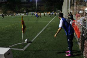 L'únic gol del Montserratina va arribar en un córner // Jose Polo