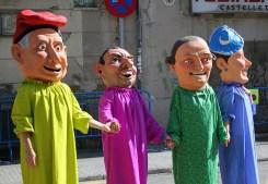 Capgrossos a la plaça de la Creu // Jose Polo