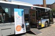 Aprofitant la setmana de la mobilitat, el MolinsBus anunciava que ha congelat les tarifes // Jordi Julià