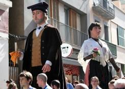 Els Gegants Vells al carrer Carril // Jose Polo
