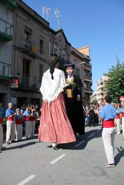 Els Gegants Vells a la plaça de la Creu // Jose Polo