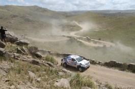 Foj en un tram d'aquest Dakar 2015 / Foj Motorsport