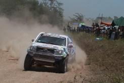 Xavi Foj en acció durant la primera etapa del Dakar // Foj Motosport