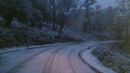 Les zones més afcetades, les de muntanya // La neu ha deixat emblanquinades les zones urbanes de Collserola // ADF Puigmadrona Olorda