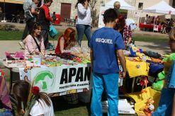 La protectora d'animals també va estar present al Sant Jordi // Jose Polo