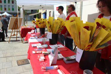 La Creu Roja Baix Llobregat Centre al Sant Jordi 2015 // Jose Polo