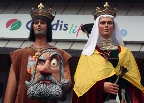 Gegants Festa Major Molins de Rei 10