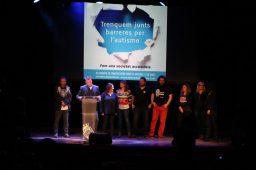 Dani Andreu llegint al manifest // Jose Polo