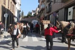 L'entrada i sortida de l'església es feia pel mateix punt // Jordi Julià