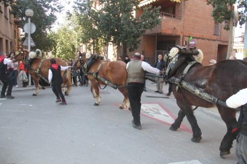 La cruilla del carrer Pare Manyanet ja no era de pujada // Jordi Julià