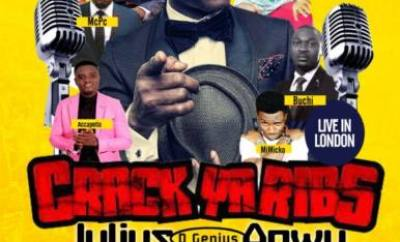 Julius Agwu - Crack Ya Ribs 2016