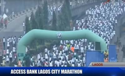 Live coverage of the Access Bank Lagos City Marathon