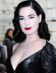 Dita Von Teese England Followed By Germany Is The