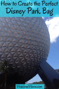 Disney Park Bag. Vivacious Views. Pinterest
