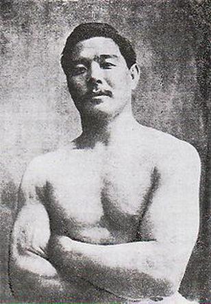 Mitsuyo Maeda who taught japanese jiu jitsu to the Gracies