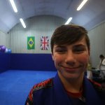 Josh smiling after a Kids BJJ class