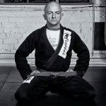 Dave Kari in his BJJ Gi