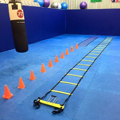 everything laid out for one of our circuit training classes in tameside