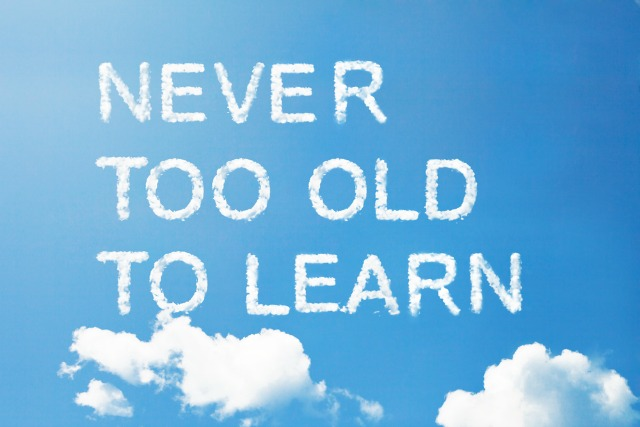 The trick to keeping your mind nimble is to keep learning something