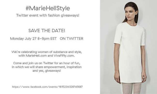 Marie Hell, style & simplicity for women of all ages