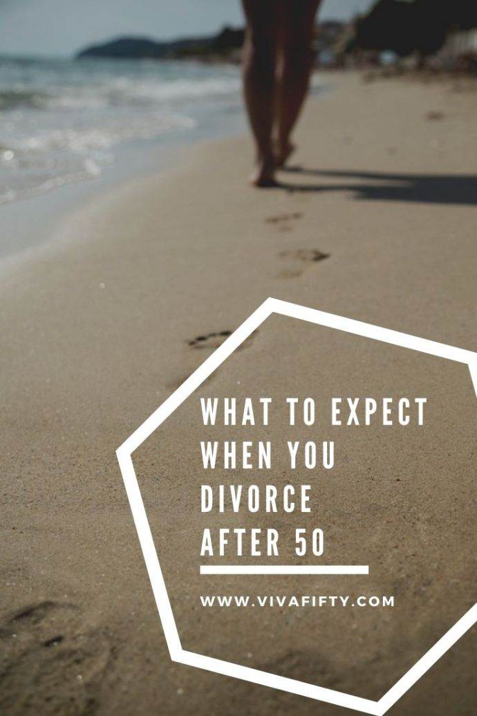 Divorce is never easy, but divorce after 50 can feel pretty daunting. Here are some tips to help you cope without feeling overwhelmed. #divorce #Midlife