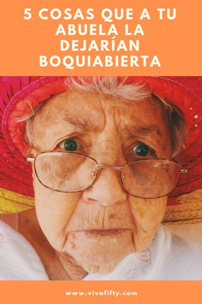 Cuando nuestras abuelas tenían nuestra edad, las cosas eran diferentes. Comparto contigo algunas cosas que seguramente sorprenderían a cualquier abuela.  #abuelas #cultura #latinos