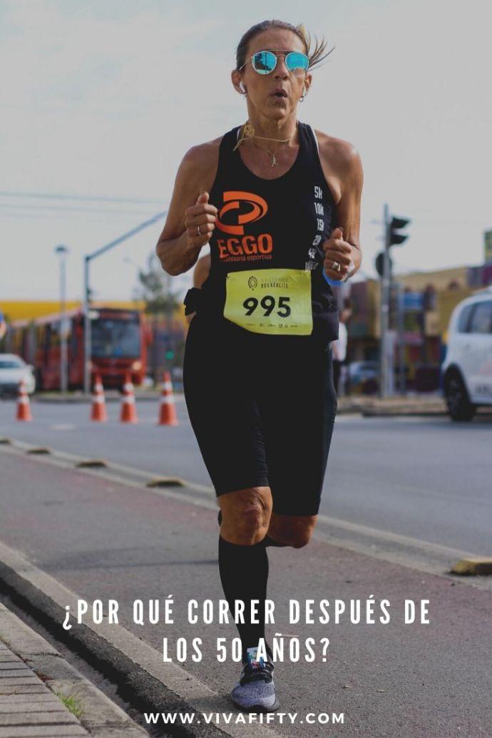 Correr después de los 50 años es beneficioso para la salud, siempre y cuando tomes ciertas precauciones. Aquí, algunos de los beneficios. #correr #running