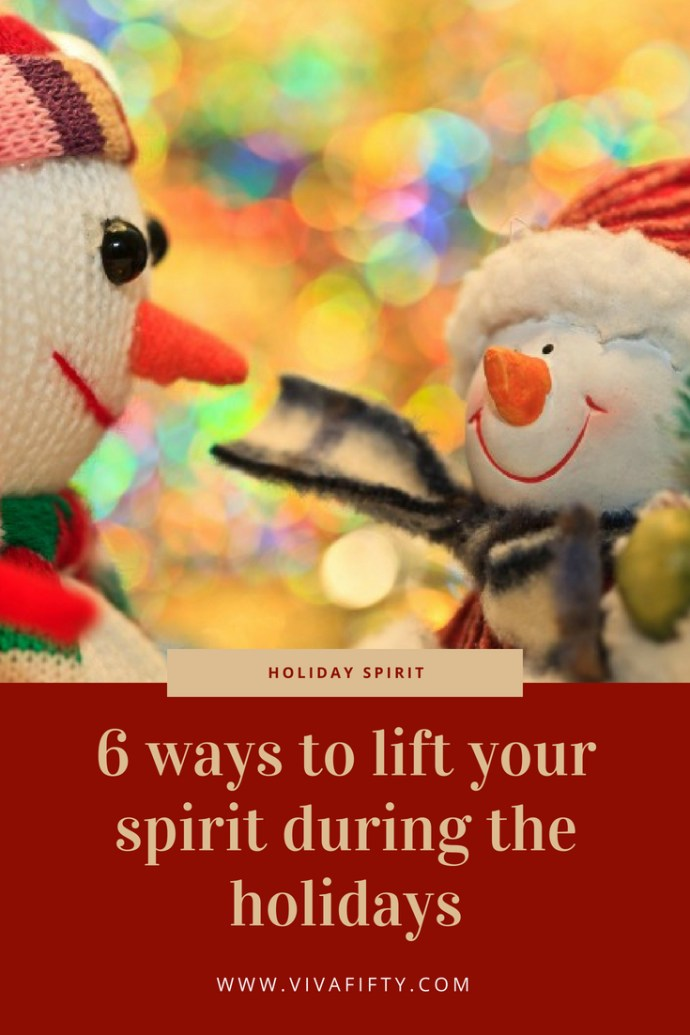 The holidays can be stressful times for many, but we can prevent this from happening. Here we give you six ways to perk your mood during the holidays. #holidays #christmas #mentalhealth #stress