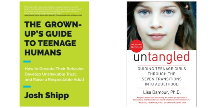 2 Books that saved my life as the mom of teens