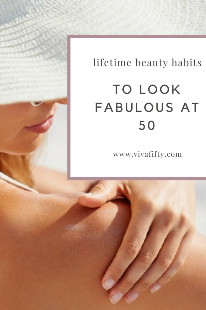 How you look and feel in your fifties is usually the result of how you've been treating yourself since you were a young girl. Here are the things I did for a lifetime to arrive at 50 in decent shape. #beauty #maturewomen #over50