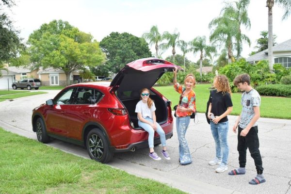 Test-driving the 2018 Mazda CX-9 around Sarasota