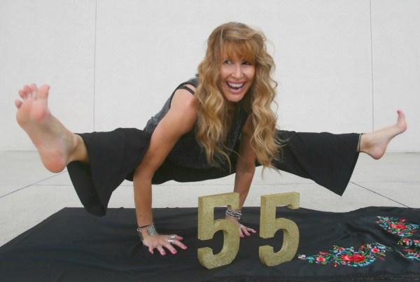 Acabo de cumplir 55 y ¡no podría estar más agradecida!